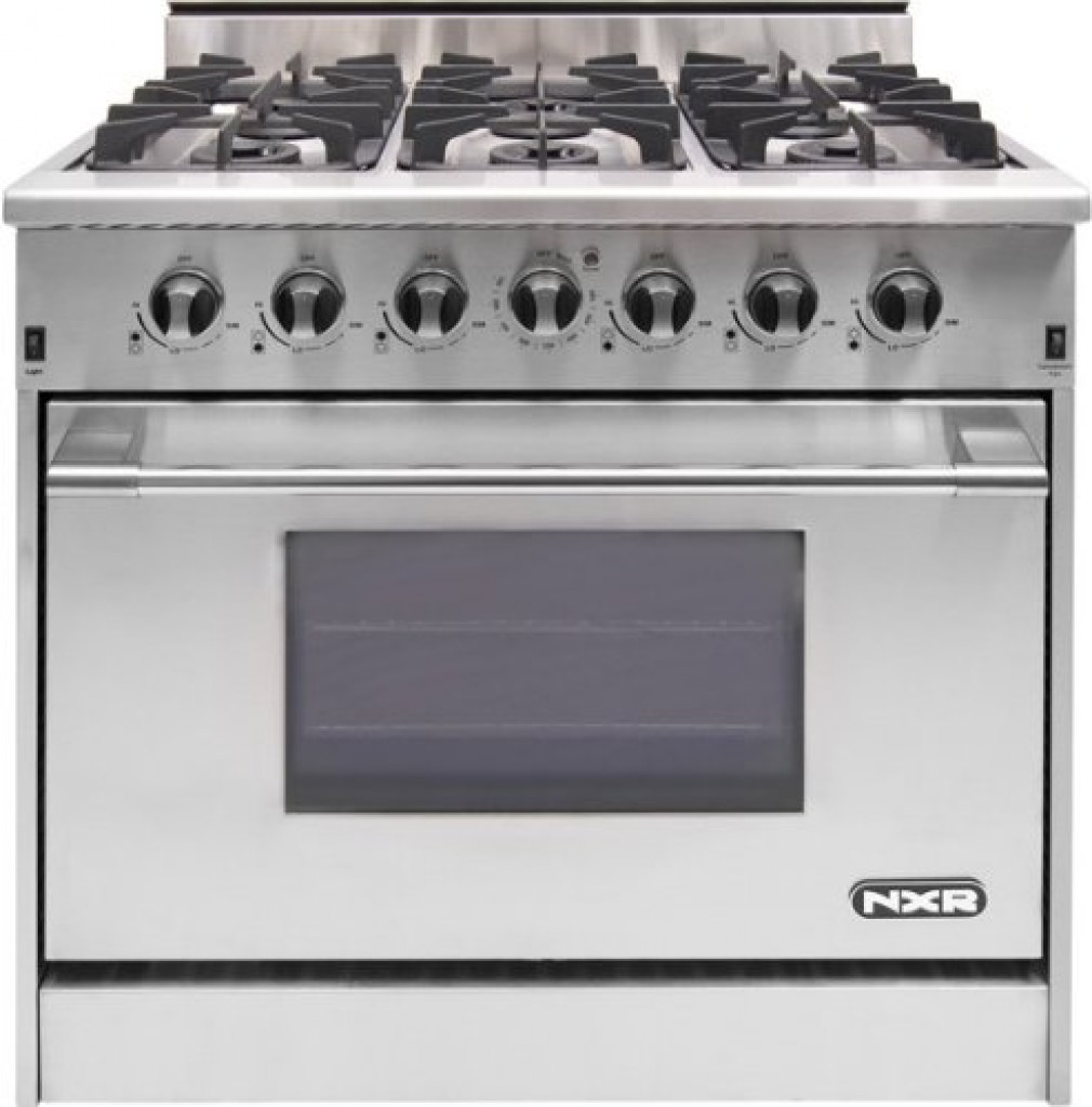 Nxr Drgb3602 36 Inch Professional Style Stainless Steel 6 Burner Gas Range Review Ranges
